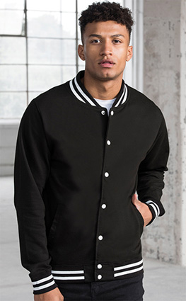 Just Hoods JH041 College Jacket