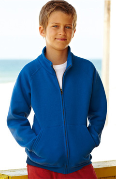 Fruit Of The Loom, Kids Classic Sweat Jacket