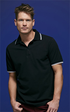 James&Nicholson Mens Coldblack Polo JN966