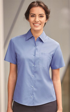 Russell Europe Popeline Blouse 937F shirtmanufaktur