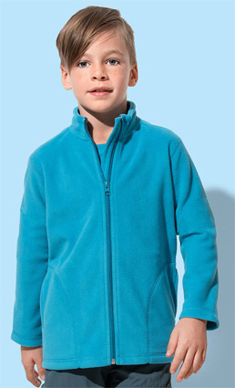 Stedman Fleece Jacket Junior ST5170 hawaii blue